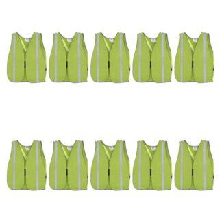 Pioneer 595 Hi-Viz All-Purpose Mesh Vests 10-Pack