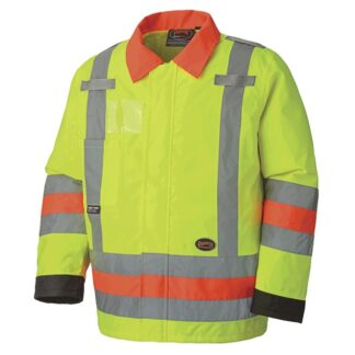 Pioneer 6037 Hi-Viz Traffic Control Waterproof Safety Jacket