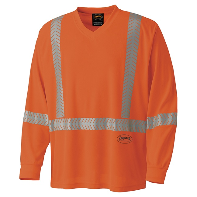 Pioneer 6904 Ultra-Cool, Ultra-Breathable Long-Sleeved Safety Shirt