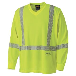 Pioneer 6905 Ultra-Cool, Ultra-Breathable Long-Sleeved Safety Shirt