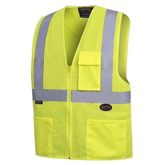 """Pioneer 6922 Hi-Viz Safety Vest with 2"""" Tape"""