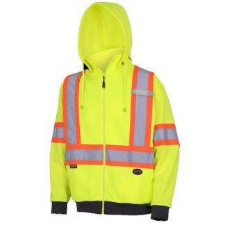 Pioneer 6950 Hi-Viz Diamond Jacquard Poly/Cotton Hoodie