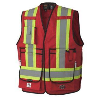 Pioneer 7731 Hi-Viz FR-Tech 88/12 FR/Arc Rated Surveyor's Safety Vest