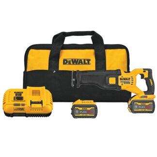 DeWalt DCS389X2 FLEXVOLT 60V MAX Brushless Reciprocating Saw Kit