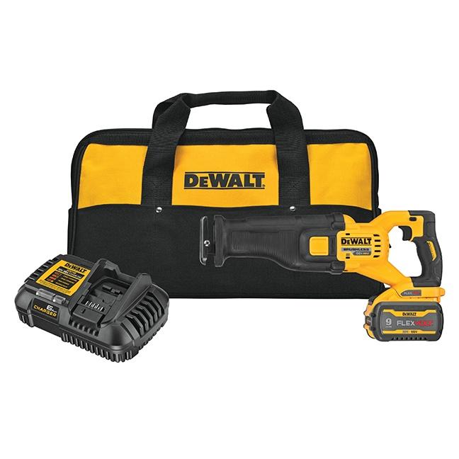 DeWalt DCS389X1 FLEXVOLT 60V MAX Brushless Reciprocating Saw Kit