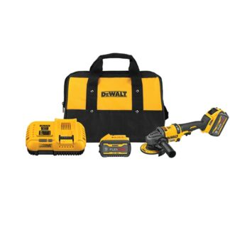 "DeWalt DCG418X2 FLEXVOLT 60V MAX Brushless 4-1/2""-6"" Grinder With Kickback Brake Kit"