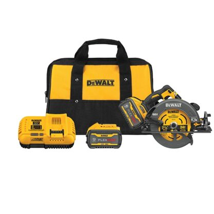 "DeWalt DCS578X2 FLEXVOLT 60V MAX Brushless 7-1/4"" Circular Saw with Brake Kit"