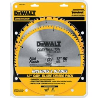 "DeWalt DW3128P5 12"" Mitre Saw Construction Blades"