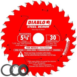 "Freud D053830FMX Diable Metal Blade 5-3/8"" 30T"