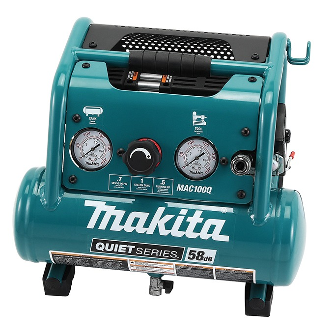 Makita MAC100Q 0.5hp Quiet Series Air Compressor