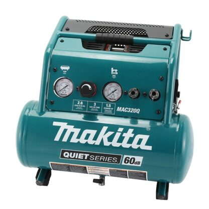 Makita MAC320Q 1.5hp Quiet Series Air Compressor