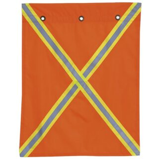 Pioneer 353 Polyester Flag With Reflective Tape on Both Sides