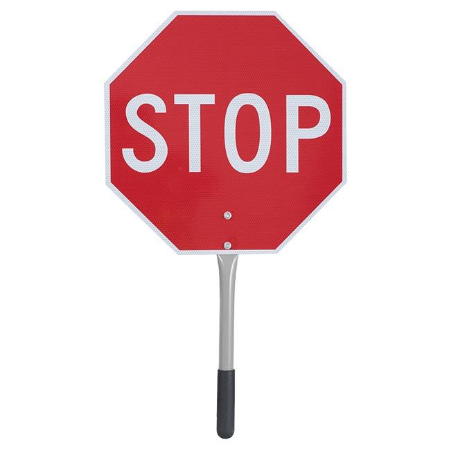 """Pioneer 455 Traffic Stop/Slow Paddle 16"""""""