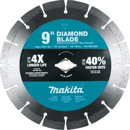 "Makita E-02515 9"" Diamond Blade Segmented General Purpose"
