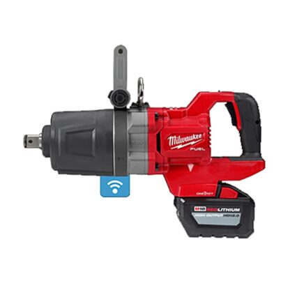 "Milwaukee 2868-22HD M18 FUEL 1"" D-Handle High Torque Impact Wrench with ONE-KEY Kit"