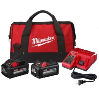 Milwaukee 48-59-1880RCC M18 High Output 8.0Ah/6.0Ah Starter Kit