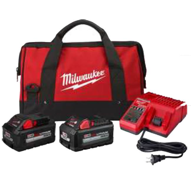 Milwaukee 48-59-1880RCC M18 High Output 8.0Ah/6.0Ah Starter Kit