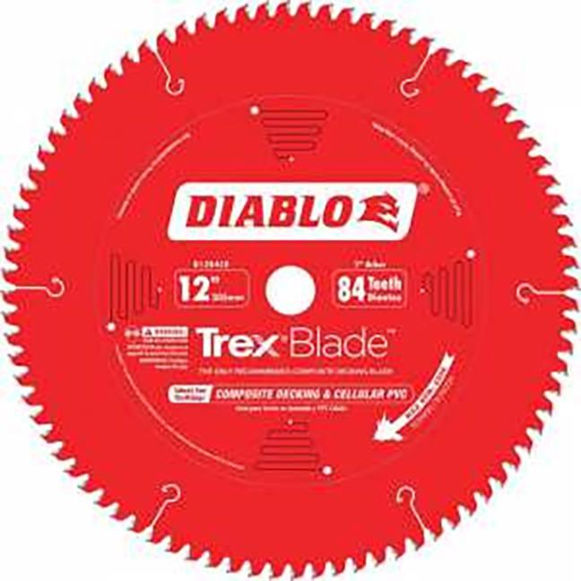 "Freud D1284CDC Diablo 12""x84T TRex Blade"