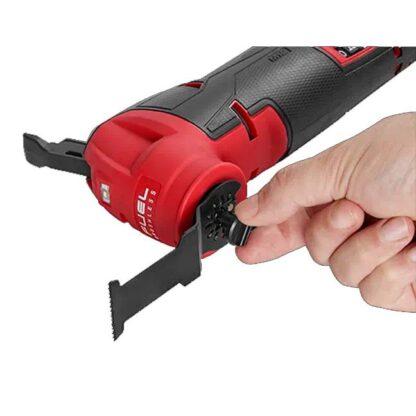 Milwaukee 2526-20 M12 FUEL Oscillating Multi-Tool 4