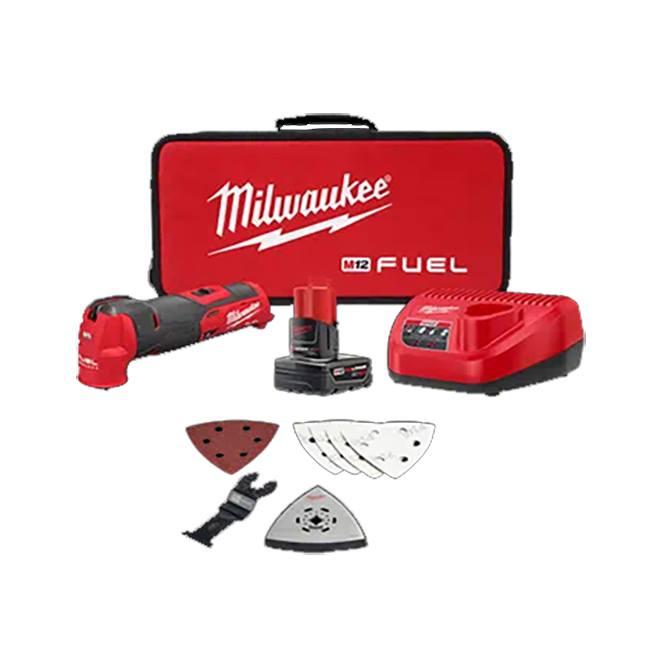 Milwaukee 2526-21XC M12 FUEL Oscillating Multi-Tool Kit