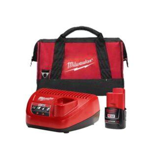 Milwaukee 48-59-2420S M12 2.0Ah Starter Kit