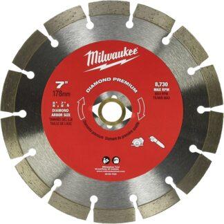 "Milwaukee 49-93-7020 7"" Diamond Premium Segmented"
