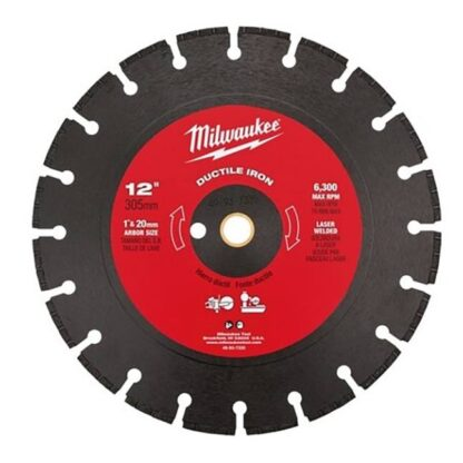 "Milwaukee 49-93-7335 12"" Ductile Iron Segmented"