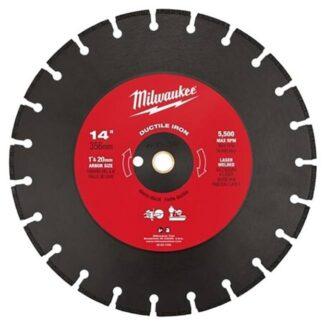 "Milwaukee 49-93-7340 14"" Ductile Iron Segmented"