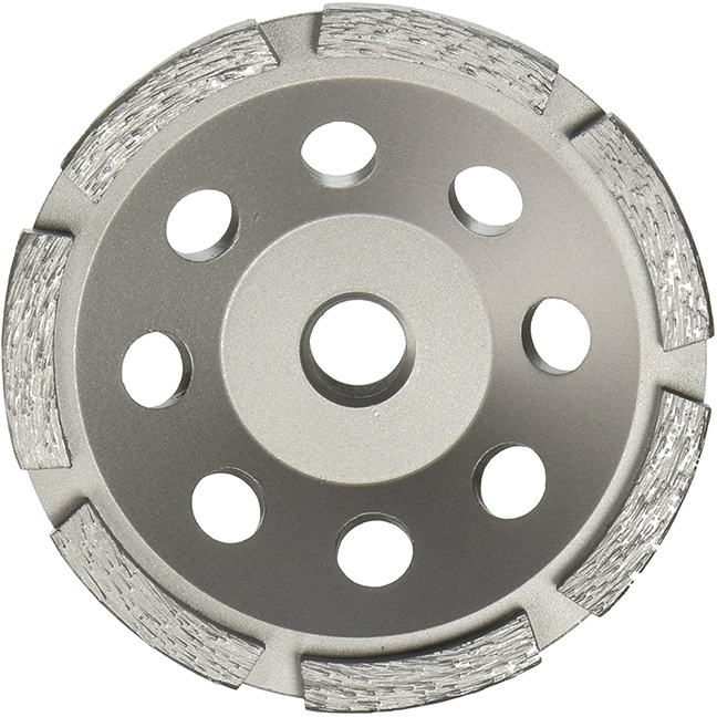 """Milwaukee 49-93-7700 4"""" Diamond Cup Wheel Single Row"""