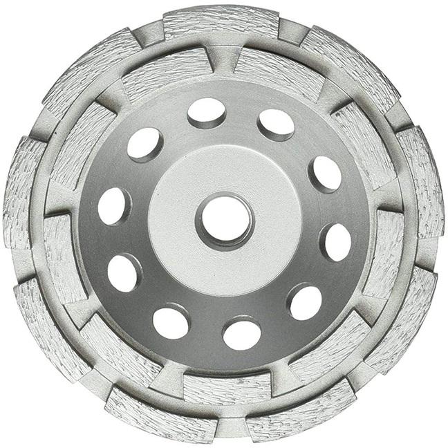 "Milwaukee 49-93-7760 5"" Diamond Cup Wheel Double Row"