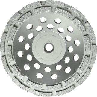 "Milwaukee 49-93-7770 7"" Diamond Cup Wheel Double Row"