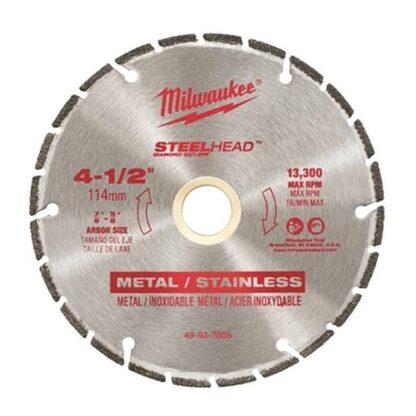 """Milwaukee 49-93-7805 4-1/2"""" SteelHead Diamond Cut-Off"""