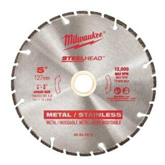 """Milwaukee 49-93-7810 5"""" SteelHead Diamond Cut-Off"""