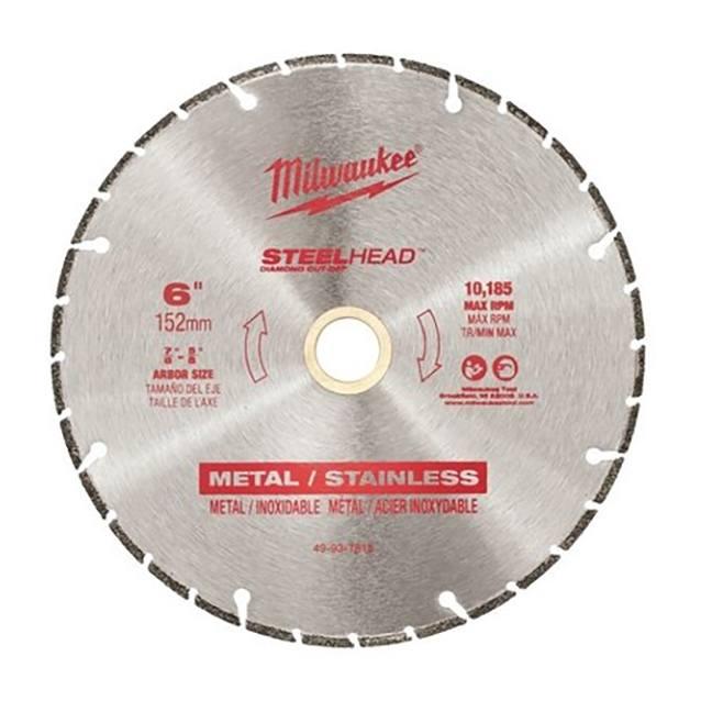 """Milwaukee 49-93-7815 6"""" SteelHead Diamond Cut-Off"""