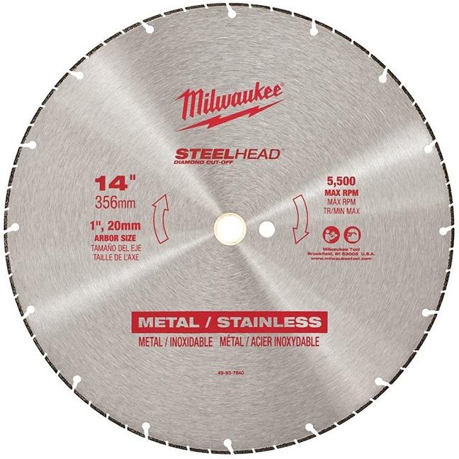 """Milwaukee 49-93-7840 14"""" SteelHead™ Metal Cutting Blades"""
