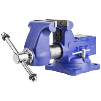 Jet 320403 Heavy Duty Round Channel Bench Vise