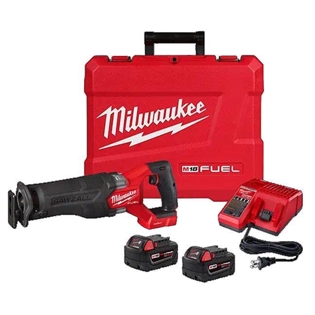 Milwaukee 2822-22 M18 FUEL SAWZALL Recip Saw with ONE-KEY Kit