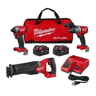 Milwaukee 2998-23 M18 FUEL 3-Piece Combo Kit