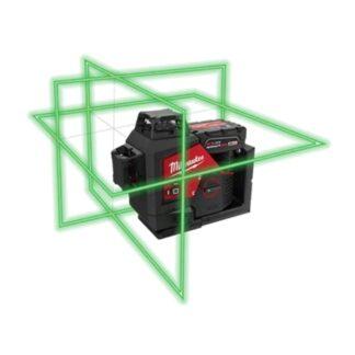Milwaukee 3632-21 M12 Green 360° 3-Plane Laser Kit