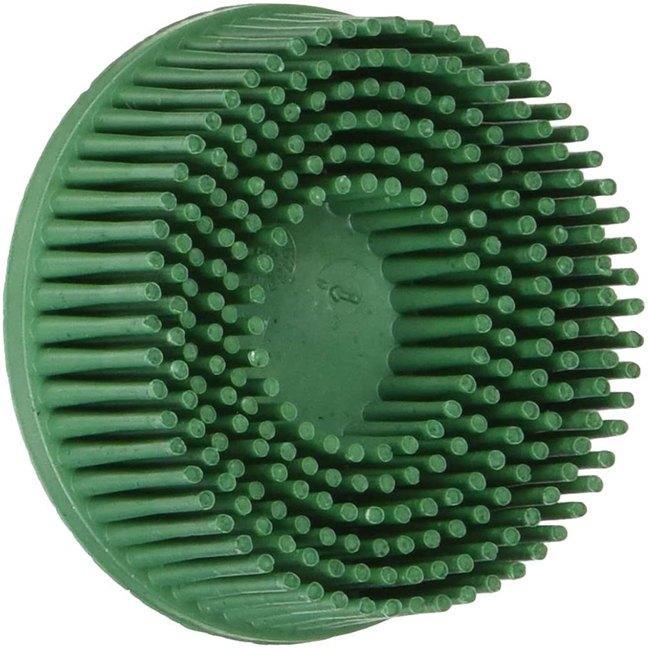 """3M 07524 Roloc 2"""" x 5/8 Tapered Coarse Grade 50 Bristle Disc"""