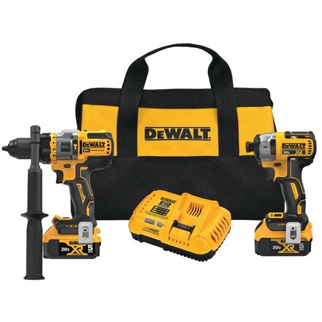 Dewalt DCK2100P2 20V Max Brushless 2-Tool Combo Kit