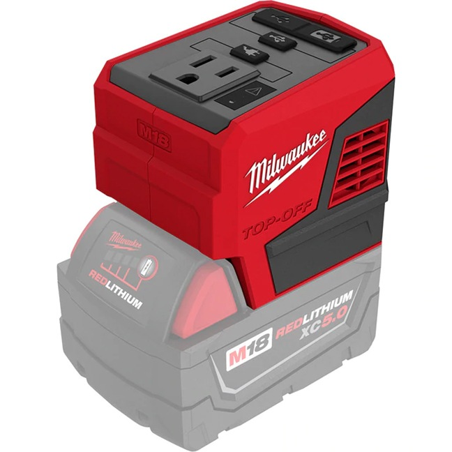 Milwaukee 2846-20 M18 TOP-OFF 175W Power Supply