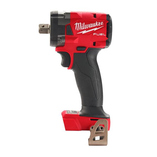 """Milwaukee 2855P-20 M18 FUEL 1/2"""" Compact Impact Wrench - Pin Detent - Tool Only"""