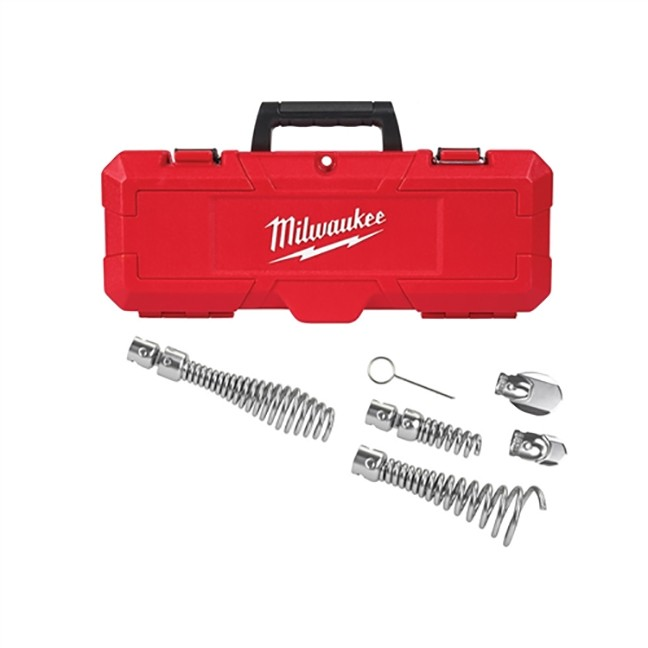 """Milwaukee 48-53-3820 1-1/4 - 2"""" Head Attachment Kit for 5/8"""" Sectional Cable"""