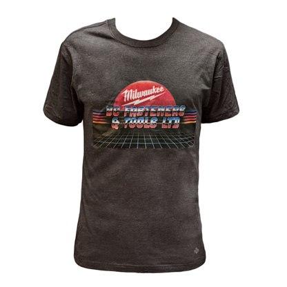 BC Fasteners Retro Style Milwaukee T-Shirt Men's
