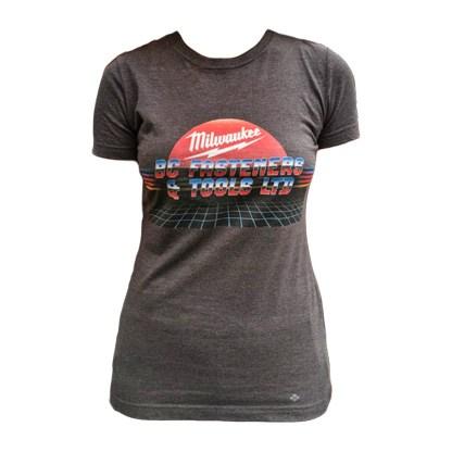 BC Fasteners Retro Style Milwaukee T-Shirt Women's