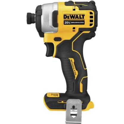 "DeWalt DCF809B Atomic 20V Max Brushless Compact 1/4"" Impact Driver"