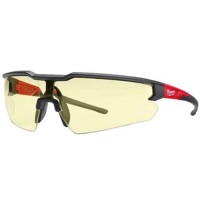 Milwaukee 48-73-2100 Safety Glasses - Yellow Anti-Scratch Lenses