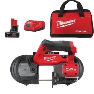 Milwaukee 2529-21XC M12 FUEL 12V Brushless Compact Band Saw Kit