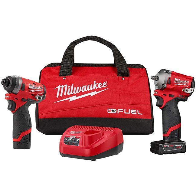 Milwaukee 2599-22 M12 FUEL 2-Piece Cordless Combo Kit